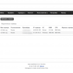 Выделенные серверы. Game AdminPanel 0.5.4